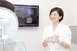 患者さん一人ひとりに合わせて、相談しながら治療を進めていきます。